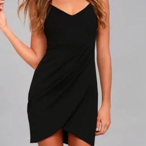 Lulu's Forever Your Girl Black Bodycon Dress